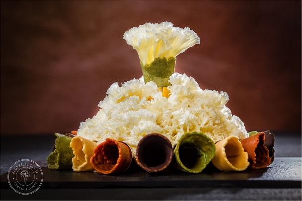 Flores de queso